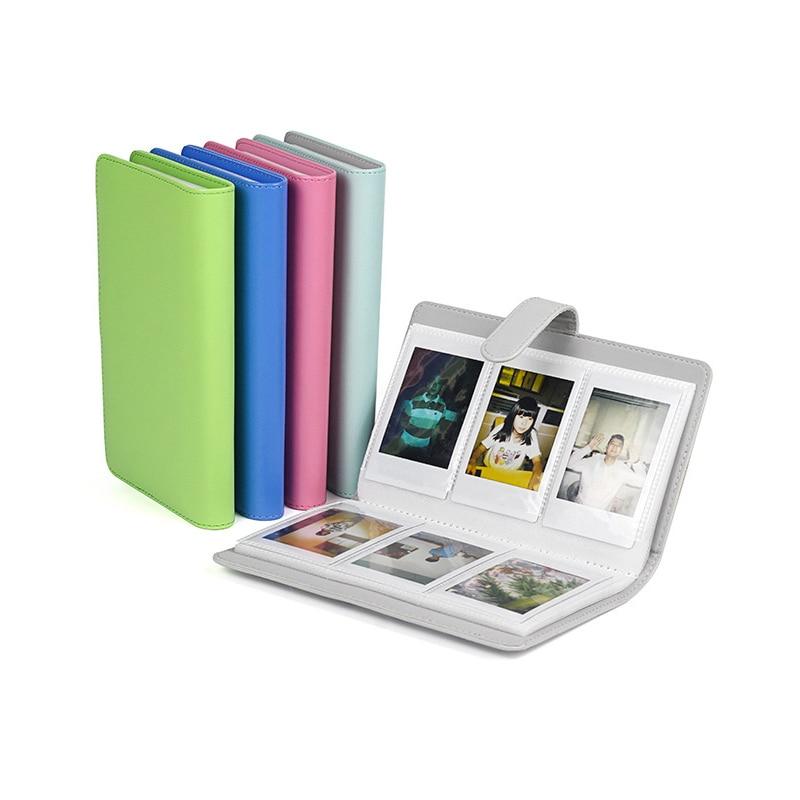 Мини пленка Instax Mini, 1 шт., чехол из искусственной кожи, хит продаж, мгновенный фотоальбом, популярный, высокое качество, 3 дюйма, 96 карманов Фотоальбомы      АлиЭкспресс