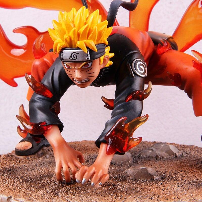 Anime Naruto Shippuden Kyuubi Uzumaki Naruto GK Statue PVC Action Figure Collectible Model Toy Doll 1