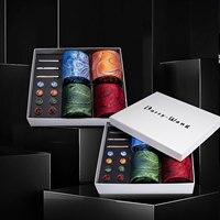 4pcs Men Tie Green Pasiley Silk Men Wedding Necktie Pocket Square Gift Box Set Male 4pcs Ties For Men Gift Barry.Wang BB4 12