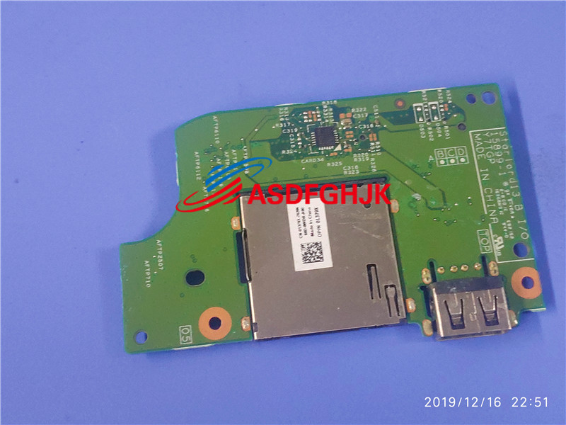 FOR Dell Inspiron 15 7569 7778 Usb/sd Card Reader IO Circuit Board 01379X 1379x Y7TGP 100% Perfect Work