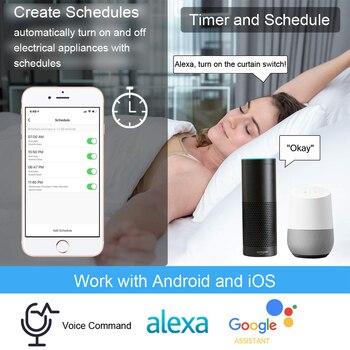 Tuya Smart Life WiFi Curtain Blind Switch for Roller Shutter Electric motor Google Home Alexa Echo Voice Control DIY Smart Home 2