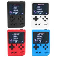 3 cal przenośne podręczne konsole do gier podręczny Retro dla FC konsola do gier zbudowana-w 400 gry 8 Bit dla dziecka Nostalgic