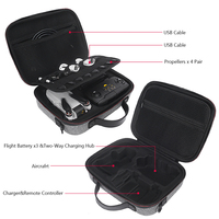Waterproof Carrying Case for DJI Mavic Mini Drone Accessories Shockproof Storage Bag Travel Case Protective Cover