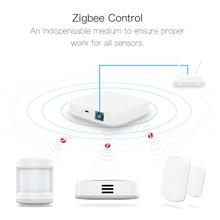 Tuya Smart Zigbee Hub domu scena automatyzacji bezpieczeństwa zestaw alarmowy PIR drzwi i okna czujnik temperatury i wilgotności inteligentny życie