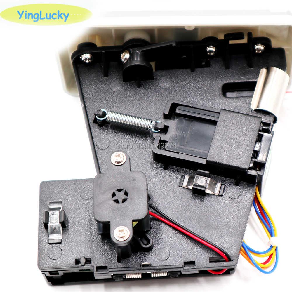 Jy 100f 전자 코인 수락 자 cpu 비교 코인 셀렉터 다중 메커니즘 아케이드 패널 led 코인 수락 자