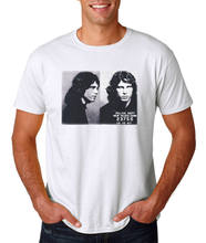 Jim Morrison Mug Shot T-Shirt / New Haven 1967 Arrest Retro Vintage Style(China)