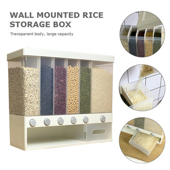 Wall-mounted dry food dispenser 1
