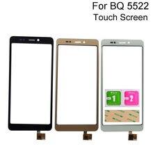 Tela de toque vidro para bq BQ-5522 bq5522 bq 5522 próximo toque digitador da tela do telefone reparação painel vidro dianteiro sensor ferramentas