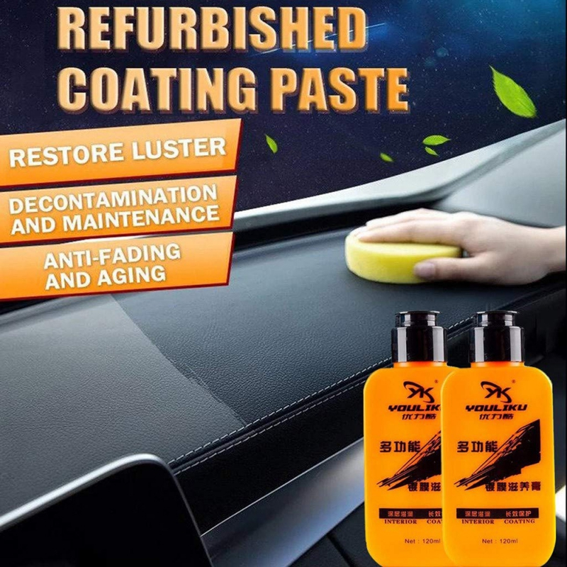 Multifunctional Leather Refurbishing Cleaner Leather Renovated Coating Paste Maintenance Agent Interior Refurbishment