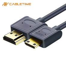 Mini cavo da HDMI a HDMI 2.0 Micro HDMI 4K/60Hz M/M Premium HDMI Mini cavo HDMI ad alta velocità 3D per Tablet PC HDTV PS4 XBox C126