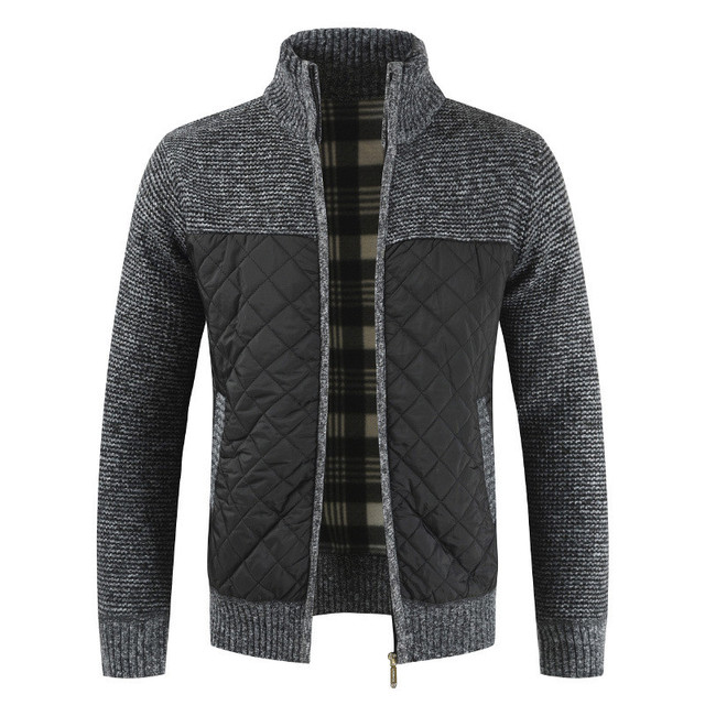 Men's Sweaters 2020 Spring Autumn Winter Warm Knitted Sweater Jackets Cardigan Coats Male Clothing Casual Knitwear 1