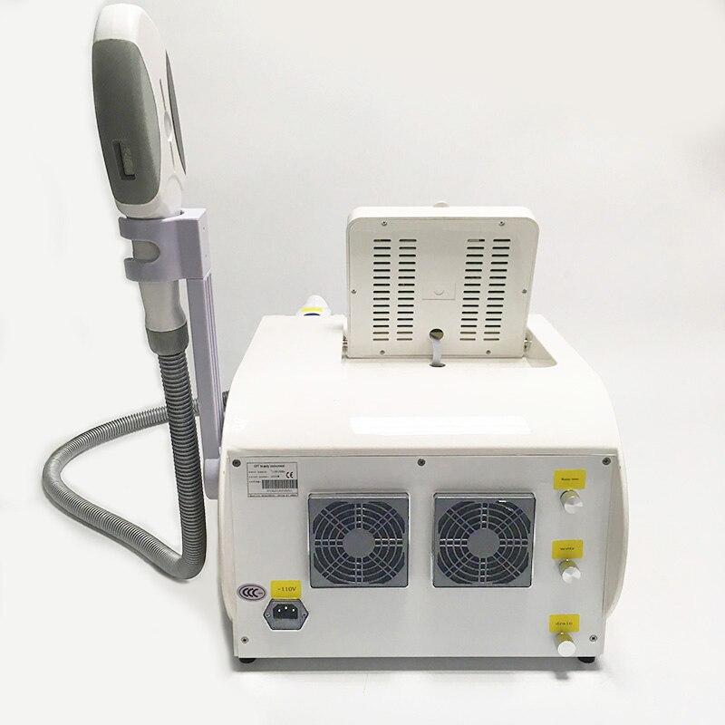 Tragbare IPL Shr Opt Permanent haar entfernung Whtening und verjüngende laser haar entfernung schönheit maschine