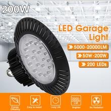 200 Вт для НЛО светодиодный светильник s 110 В 220 В водонепроницаемый коммерческий светильник Промышленный светильник для склада светодиодный ...
