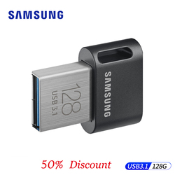 SAMSUNG USB unidad Flash USB 3,1 256GB pendrive mini usb metálico Memoria 32gb disco en clave cle USB Pen Drive gb 64gb 128gb nuevo