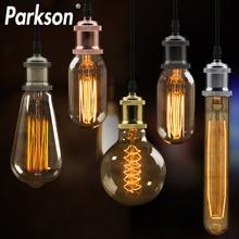 Lámpara E27 interruptor de bases atornillable AC110V 220V luces colgantes Vintage portalámparas a juego Edison bombilla