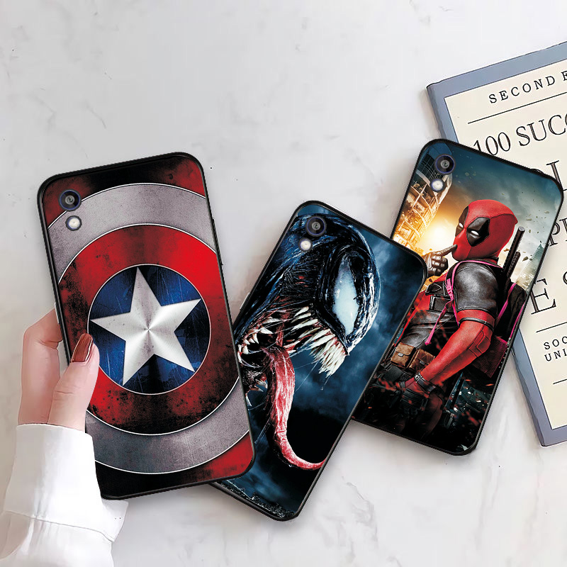 Avengers Protective Phone Shell for Huawei Y5 Honor 8S 8A 7S 7A Y5 Lite Prime 2018 Y6 2019 2
