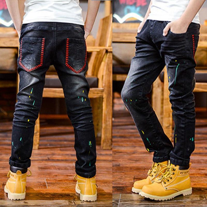 Boys Slim Straight Jeans