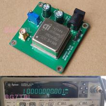10MHz OCXOมาตรฐานBoardคงที่อุณหภูมิคริสตัลOscillator 10MHz/13DBM Sine Wave OutputสำหรับHam Radioเครื่องขยายเสียง