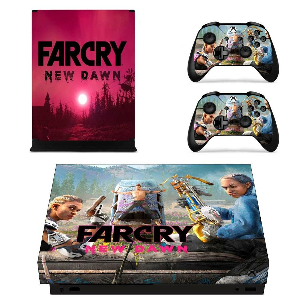 FARCRY Far Cry New Dawn Game Full Cover Skin Console & Controller Decal Stickers for Xbox One X Skin Stickers Vinyl image