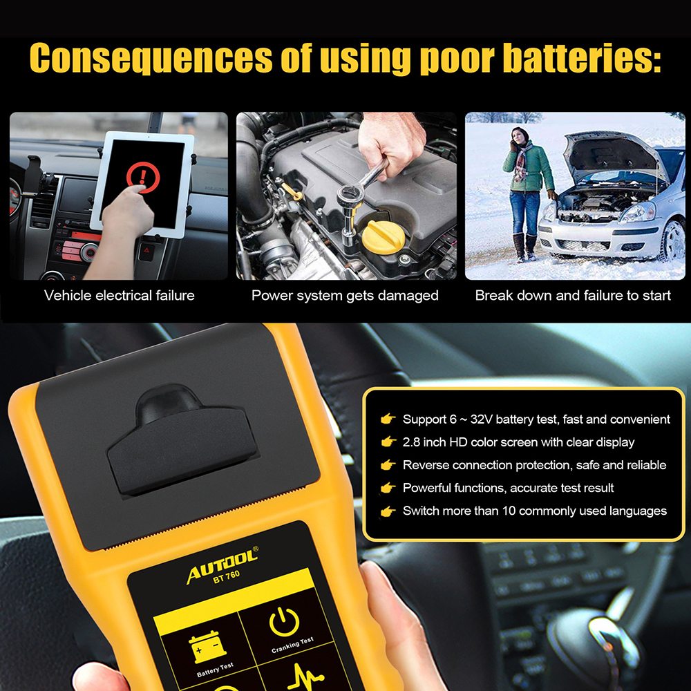 cheapest Universal LCD Digital Car Circuit Tester Power Probe Automotive Diagnostic Tool 5-48V Electrical Light Fuse Voltage Test Pen