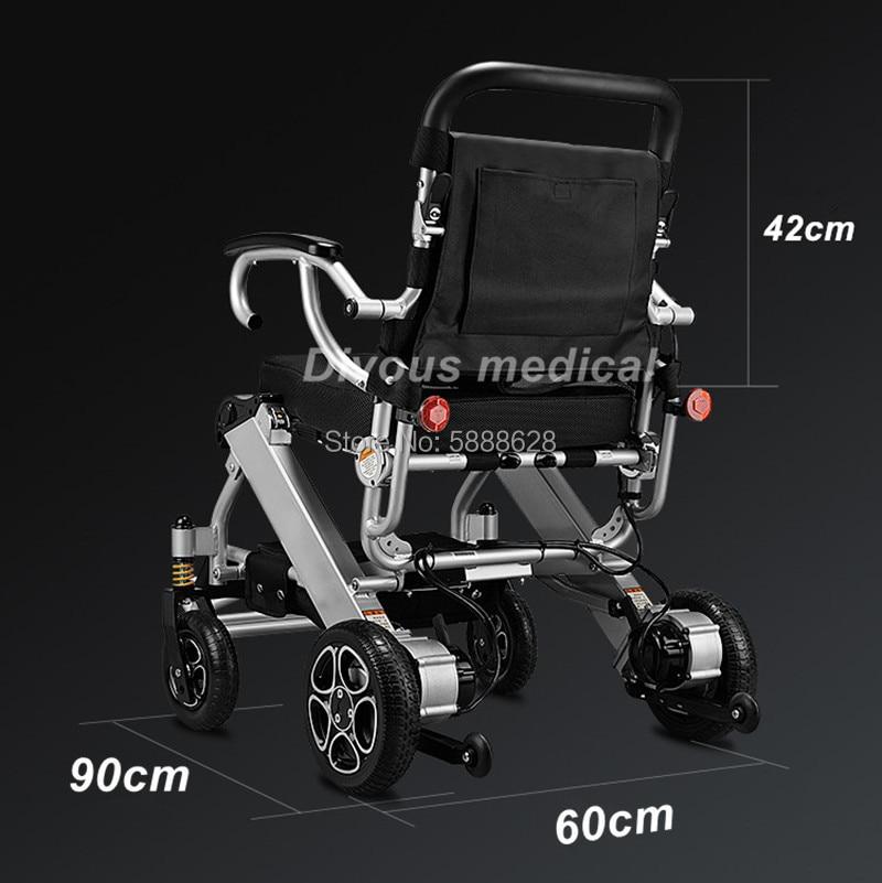 Бесплатная доставка Высококачественная Складная уличная инвалидная коляска с электроприводом для инвалидов весом 120 кг для пожилых людей.