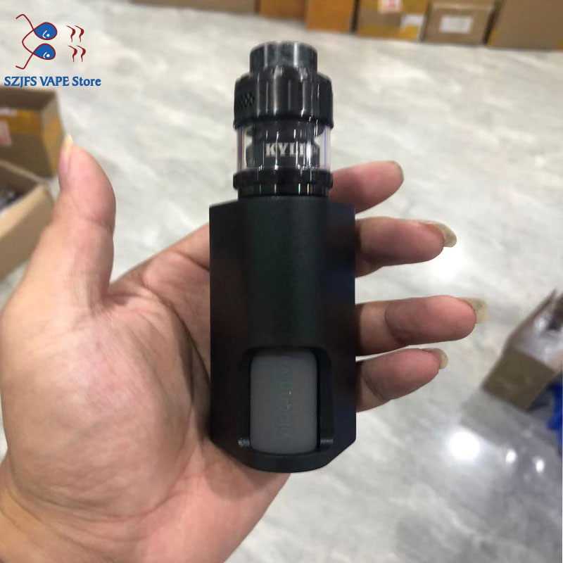 Yiloong Fogger Machete Mechanical Squonk Box MOD 8ml Silicone Bottle 2 * 18650 Battery Auto-set 510 Pin Vape Mod VS Kylin M V2