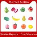 [Toy Woo] деревянная кухонная игрушка, ролевая игра, фрукты, овощи, детские развивающие игрушки для еды, Детская кухня, игровые подарки