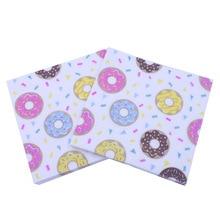 [В настоящее время ] салфетка с принтом пончики бисквит бумажное полотенце салфетка полотенце вечерние украшения ресторана перекрещивание