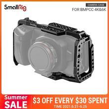 كاميرا سينما جيب 4K فيديو اطلاق النار قفص واقية الأحدث-2203 سمالبيغ ل BMPCC 4K Dslr هيكل قفصي الشكل للكاميرا ل Blackmagic تصميم