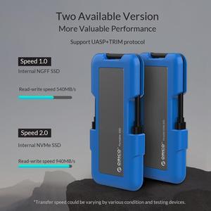 Image 5 - ORICO Bên Ngoài SSD 1TB SSD 128GB 256GB 512GB M.2 NVME SSD NGFF SSD Di Động Ổ Cứng SSD với Loại C USB 3.1
