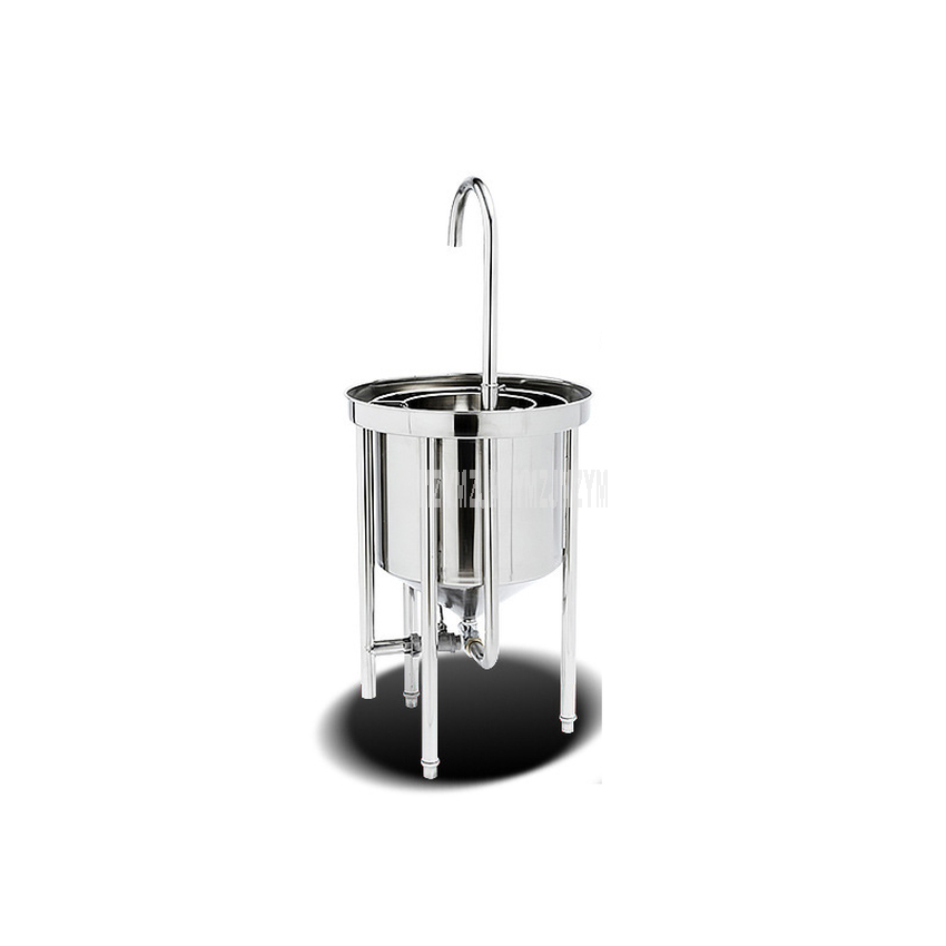 Ev Aletleri'ten Sebze Yıkayıcılar'de 25kg çamaşır kapasiteli otomatik paslanmaz çelik pirinç çamaşır makinesi ticari büyük su basıncı pirinç yıkayıcı restoran title=
