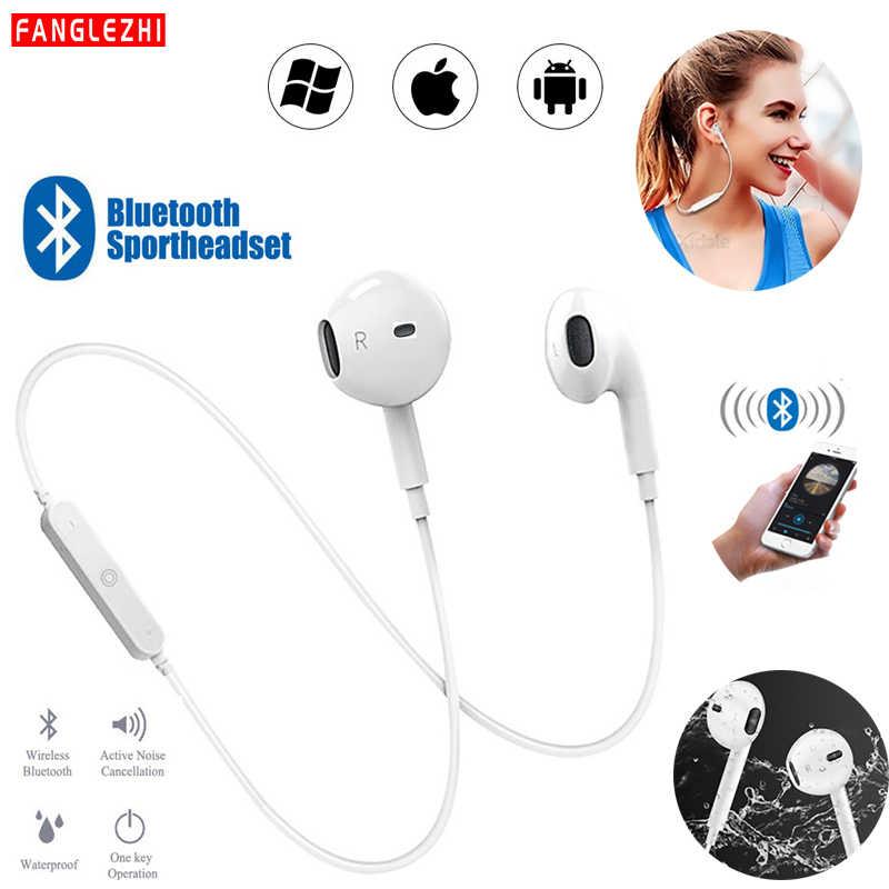 Słuchawki słuchawki bezprzewodowe z bluetooth z redukcją szumów bezobsługowy zestaw słuchawkowy z pałąkiem na kark Sport słuchawki stereo z mikrofonem do wszystkie telefony