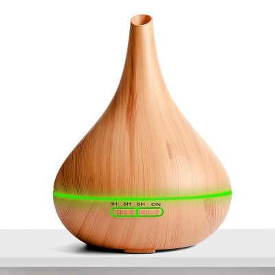 400ml hava ultrasonik nemlendirici uçucu yağ difüzör Aroma lambası aromaterapi elektrik Aroma YAYICI Mist Maker ev-ahşap için
