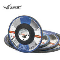 POSENPRO 125mm Stainless Steel Metal Sanding Abrasives Grinding Sheet Cutting Disc Pads Angle Grinder Long Life Grinding Wheels