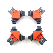 Hand-Tool Pipe-Clamp Fixing-Clips Picture-Frame Woodworking 90-Degree 1/4pcs