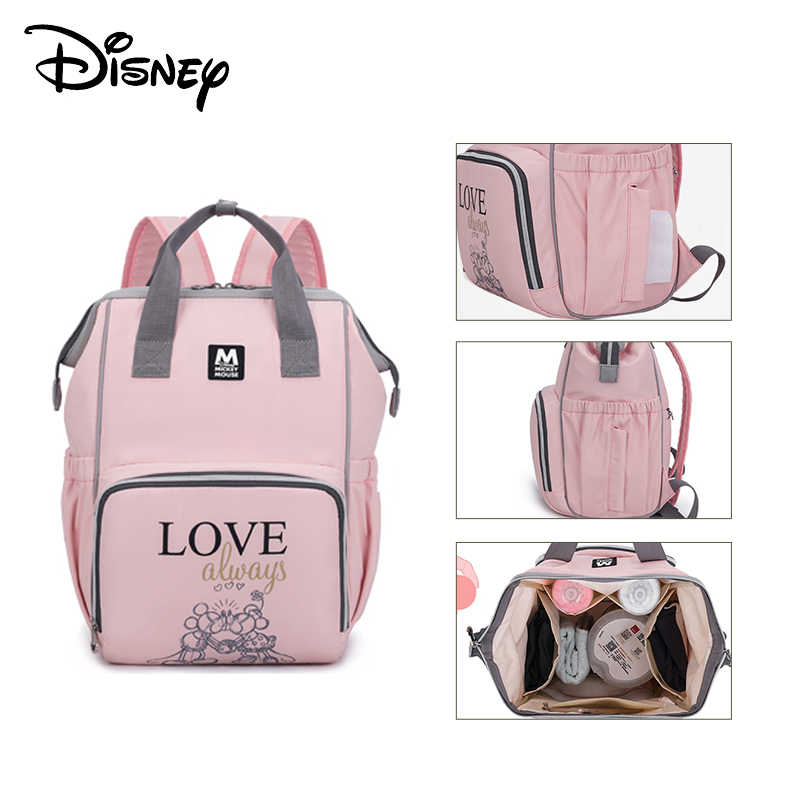 Disney baby diaper bag waterproof maternity bag backpack large capacity Mummy bag travel backpack land bag disney bag baby bag