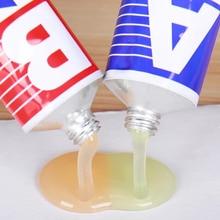 Industrial Heat Resistance Cold Weld Metal Repair Paste Metal Paste Cream 2pcs Glue Set Universal LE66