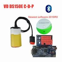 VD tcs c d p pro plus 2015.3/2016 R0 keygen with bluetooth new vci for delphis vd ds150e c d p car truck OBD diagnostic tool