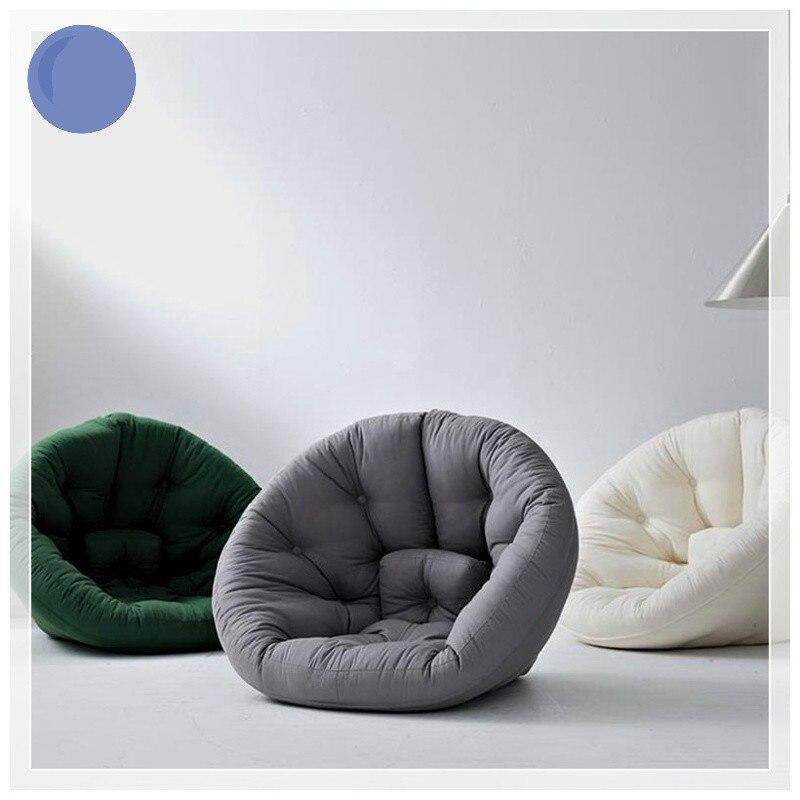 Personality creative lazy sofa Leisure living room chair recliner single bedroom floor small sofa room bed bay window sofa