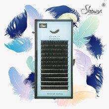 Individual Natural Soft Lash Extension Make Up Premium Mink Single Eyelash Supplies Cilia