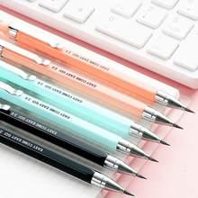 Crayon propulseur 2B, 2.0mm, crayon mécanique couleur bonbon, écriture pour dessin, pour enfants, filles, fournitures scolaires, papeterie étudiante
