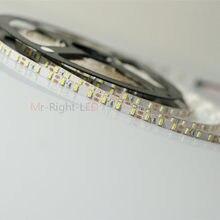5m superbright 5mm alta brilhante 3014 smd 120leds/m branco fresco tira conduzida 12 v dc # np