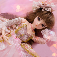 Dolls with Clothes Outfit Shoes Hair Collection