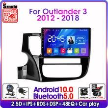 Автомагнитола на android 100 для mitsubishi outlander 3 2012