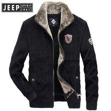JEEP SPIRIT Winter Jacket Men Coat Fleece Jackets Coats Homb