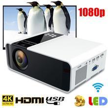W10 Мини Портативный 4K HD светодиодный проектор Bluetooth WiFi домашний кинотеатр проекторы домашний кинотеатр 1920*1080 с системой Android