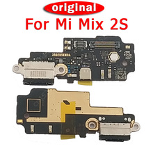 Original Charging Port For Xiaomi Mi Mix 2S USB Plug PCB Dock Connector Flex