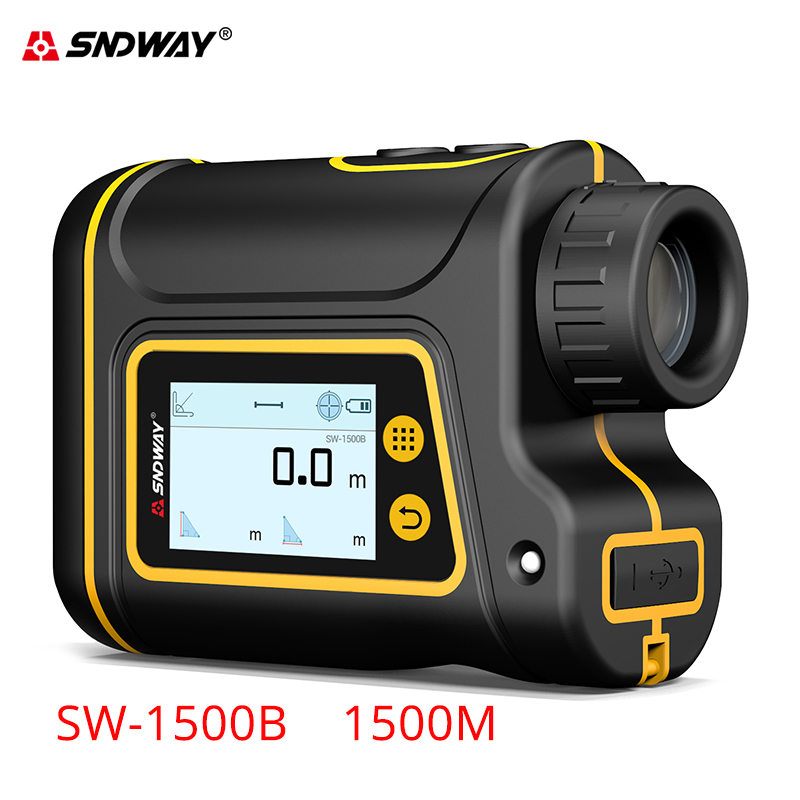 Sndway new start Laser range finder 6x Teleskop laser-distanzmessgerät 1000m/1500m range finder für die jagd/golf/sport/ingenieur