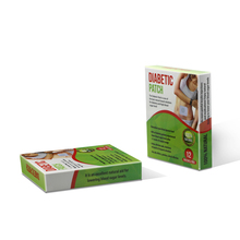 12 pieces/box Herbal Diabetic Patch Diabetic Patch For Lowering Blood Sugar