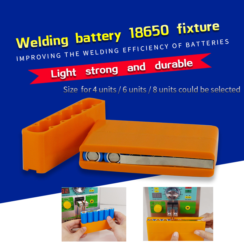 18650 Battery Fixture Fixed For Spot Welding Lithium Battery Pack Weld Fixture ,Spot Welder Welding Batteries Fixed Holder